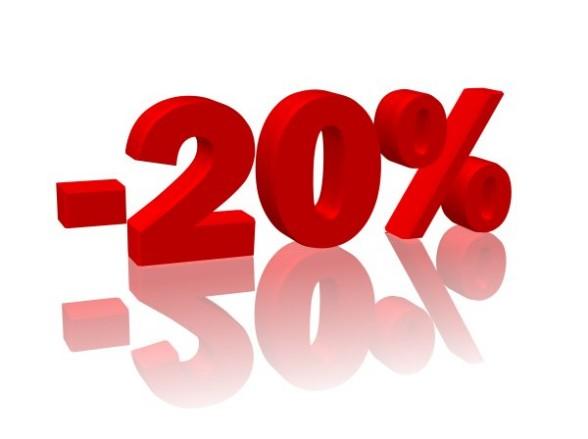 -20% jednorazowo na dowolny zabieg