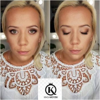 Makijaż ślubny Nowy Targ - Kinga Brzyzek