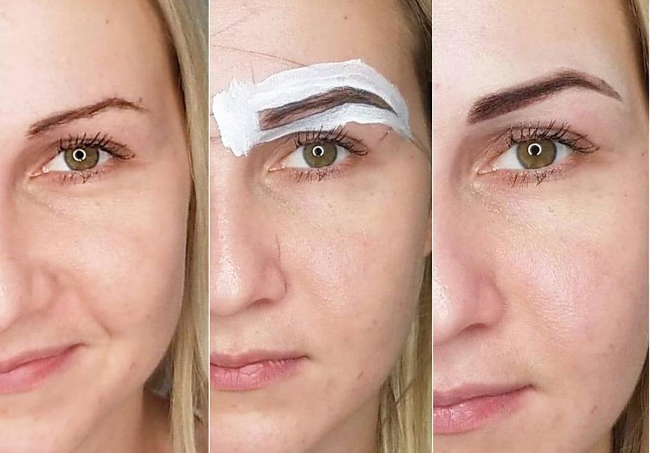 Regulacja stylizacja brwi henną w Nowym Targu