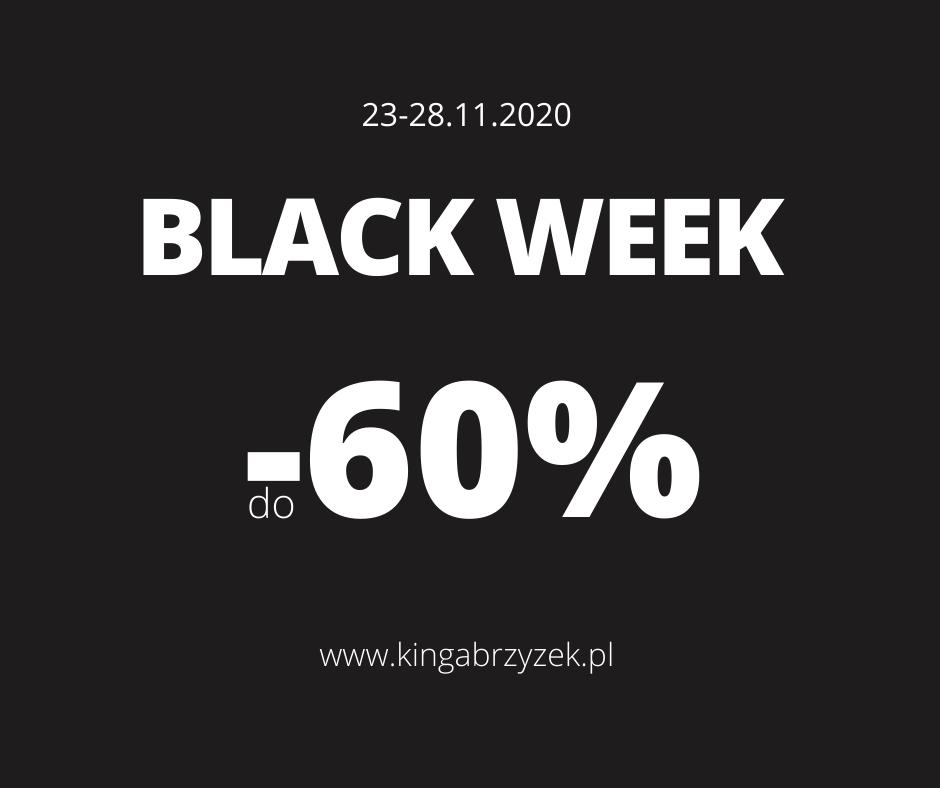 Black Week - tydzień wielkich promocji w Salonie Kosmetycznym w Nowym Targu