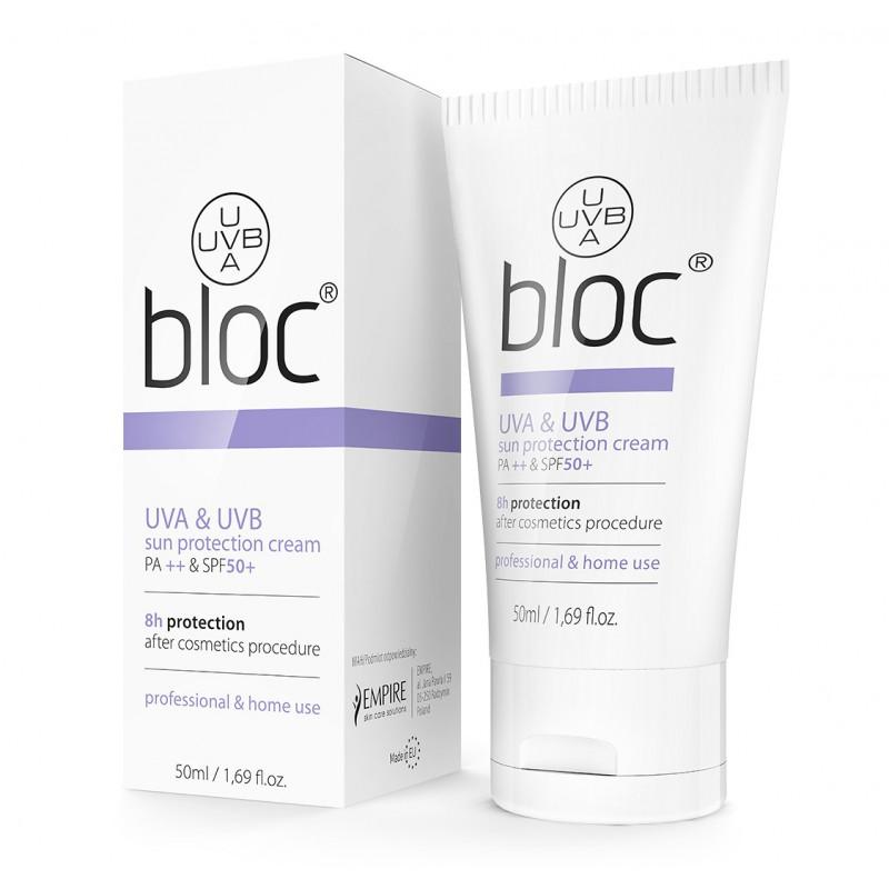 Bloc Cream Peel Mission krem z filtrem UV SPF 50 bloker 50ml
