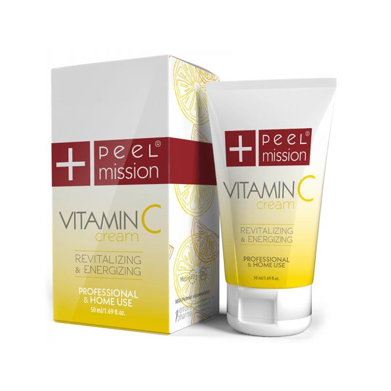 Vitamin C Cream Peel Mission krem rewitalizujący z witaminą C 50ml